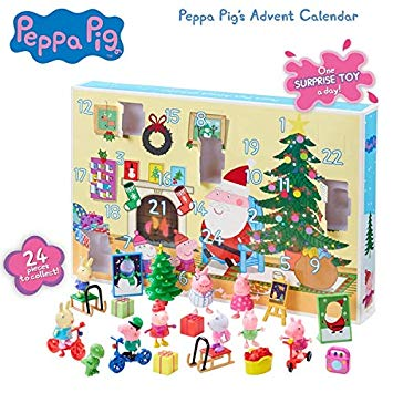 Peppa Pig Advent Calendar圣诞倒计时日历