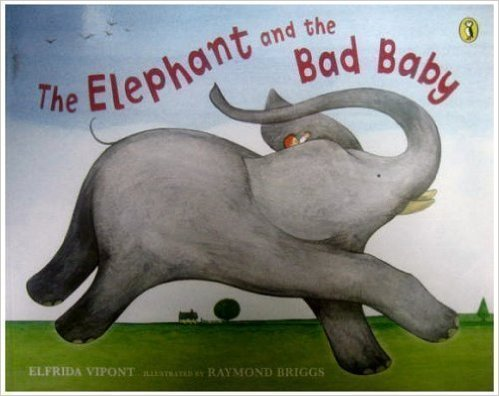 Elephant and bad baby