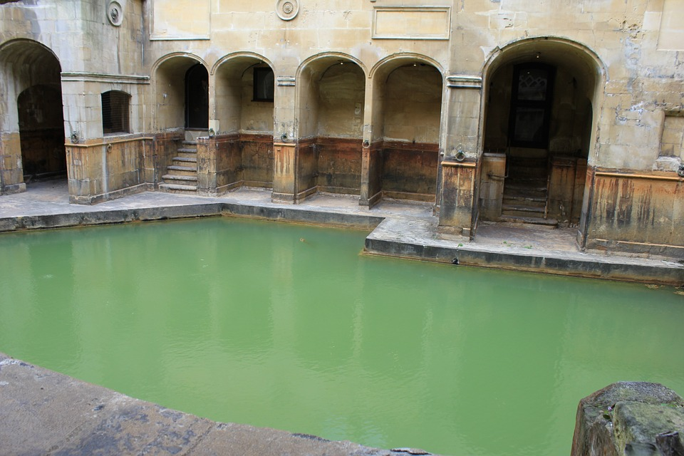 The Roman Baths古罗马浴池